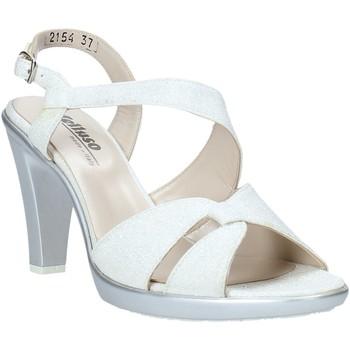 Schuhe Damen Sandalen / Sandaletten Melluso HR50138 Silber