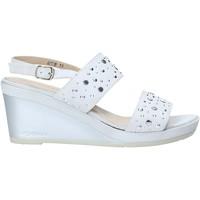 Schuhe Damen Sandalen / Sandaletten Melluso HR70531 Grau
