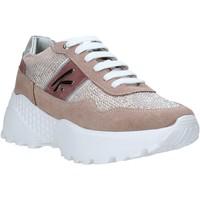 Schuhe Damen Sneaker Low Keys K-4300 Rosa