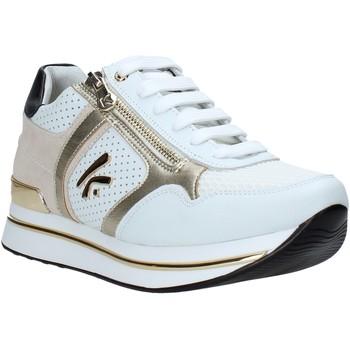 Schuhe Damen Sneaker Low Keys K-4350 Weiß