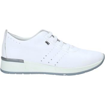 Schuhe Damen Sneaker Low Valleverde V66383 Weiß