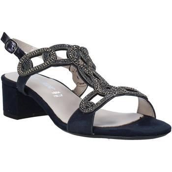 Schuhe Damen Sandalen / Sandaletten Valleverde 45140 Blau