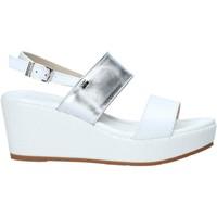 Schuhe Damen Sandalen / Sandaletten Valleverde 32212 Weiß