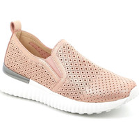 Schuhe Damen Slip on Grunland SC5136 Rosa