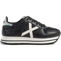 Schuhe Damen Sneaker Low Munich 8810146 Schwarz