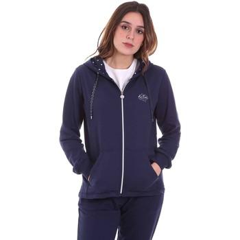 Kleidung Damen Sweatshirts Key Up 5F741 0001 Blau