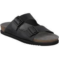 Schuhe Herren Pantoffel Mephisto P5113481 Schwarz