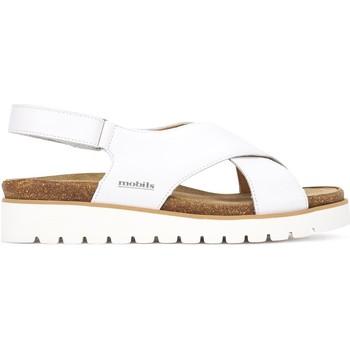 Schuhe Damen Sandalen / Sandaletten Mephisto P5131063 Weiß