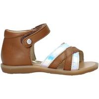 Schuhe Mädchen Sandalen / Sandaletten Naturino 502678 02 Braun