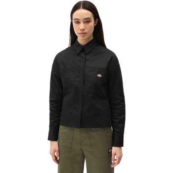 Kleidung Damen Hemden Dickies DK0A4XETBLK1 Schwarz