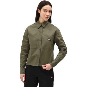 Kleidung Damen Hemden Dickies DK0A4XETMGR1 Grün