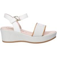 Schuhe Mädchen Sandalen / Sandaletten Alviero Martini 0647 0911 Weiß