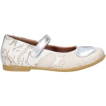Schuhe Mädchen Ballerinas Alviero Martini 0596 0934 Weiß