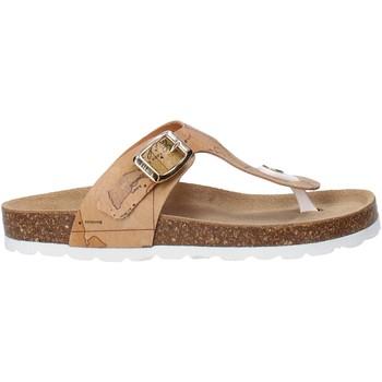 Schuhe Kinder Zehensandalen Alviero Martini E187 8391 Braun