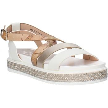 Schuhe Mädchen Sandalen / Sandaletten Alviero Martini 0578 0326 Weiß