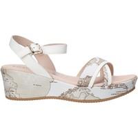 Schuhe Mädchen Sandalen / Sandaletten Alviero Martini 0641 0910 Weiß