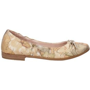 Schuhe Mädchen Ballerinas Alviero Martini 0600 0893 Braun