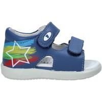 Schuhe Kinder Sandalen / Sandaletten Falcotto 1500897 01 Blau