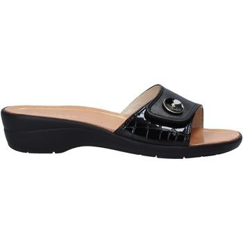Schuhe Damen Pantoffel Susimoda 1651 Schwarz