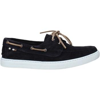 Schuhe Herren Bootsschuhe Café Noir TR6010 Blau