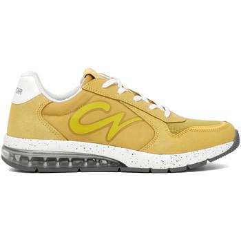Schuhe Herren Sneaker Low Café Noir MT9310 Gelb
