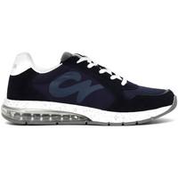 Schuhe Herren Sneaker Low Café Noir MT9210 Blau