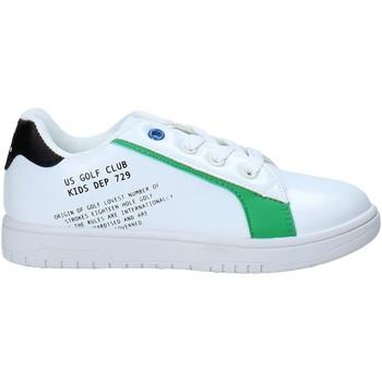 Schuhe Kinder Sneaker Low U.s. Golf S21-S00UK811 Weiß