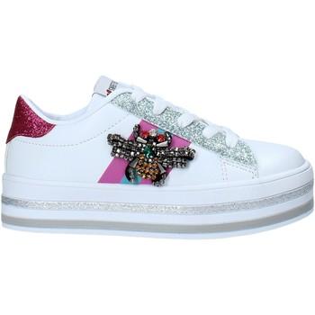 Schuhe Kinder Sneaker Low Sweet Years S21-S00SK416 Weiß