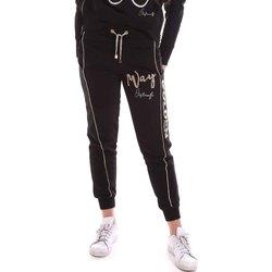 Kleidung Damen Jogginghosen Cristinaeffe 4962 Schwarz