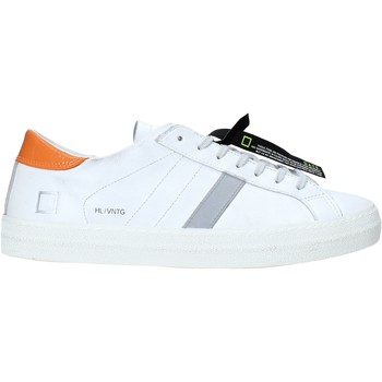 Schuhe Herren Sneaker Low Date M341-HL-VC-WQ Weiß