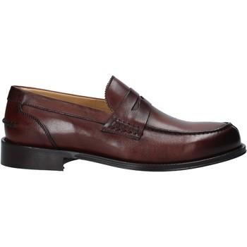 Schuhe Herren Slipper Exton 102 Braun