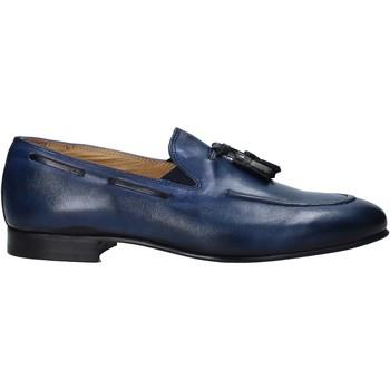 Schuhe Herren Slipper Exton 1026 Blau