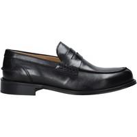 Schuhe Herren Slipper Exton 102 Schwarz
