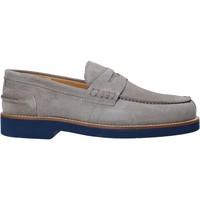 Schuhe Herren Slipper Exton 2102 Grau