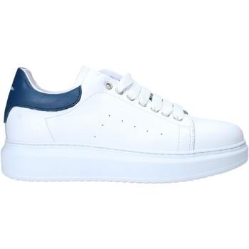 Schuhe Herren Sneaker Low Exton 955 Weiß