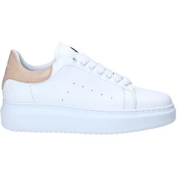 Schuhe Damen Sneaker Low Exton 1595 Weiß