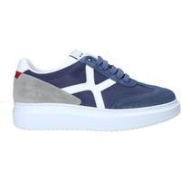 Schuhe Herren Sneaker Low Exton 951 Blau