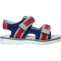Schuhe Kinder Sportliche Sandalen Balducci BS831 Blau