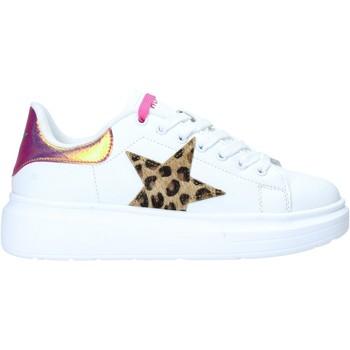 Schuhe Damen Sneaker Low Shop Art SA050106 Weiß
