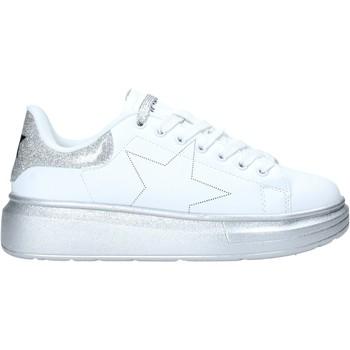 Schuhe Damen Sneaker Low Shop Art SA050116 Weiß