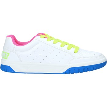 Schuhe Damen Sneaker Low Shop Art SA050156 Weiß