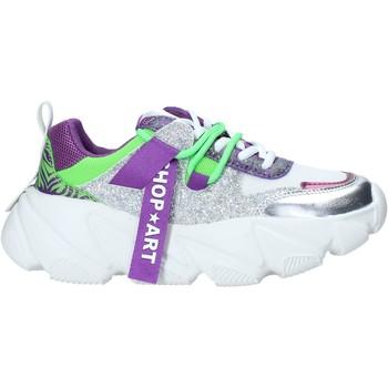 Schuhe Damen Sneaker Low Shop Art SA050143 Violett