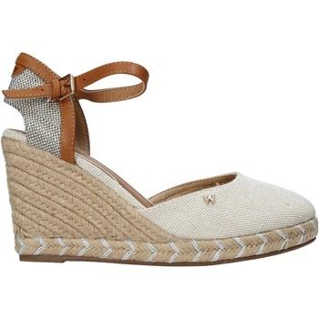 Schuhe Damen Sandalen / Sandaletten Wrangler WL11610A Beige