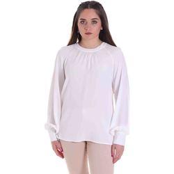 Kleidung Damen Tops / Blusen Cristinaeffe 0115 2291 Weiß