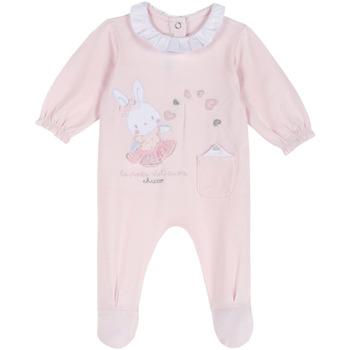 Kleidung Kinder Overalls / Latzhosen Chicco 09023955000000 Rosa
