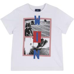 Kleidung Kinder T-Shirts Chicco 09067134000000 Weiß