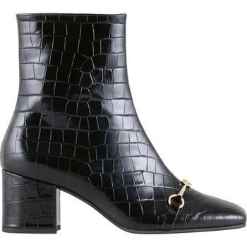 Schuhe Damen Low Boots Högl Audrey Schwarz Schwarz