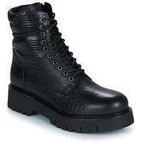 Schuhe Damen Boots Sweet Lemon DANN Schwarz