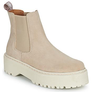 Schuhe Damen Boots Sweet Lemon NYMA Beige