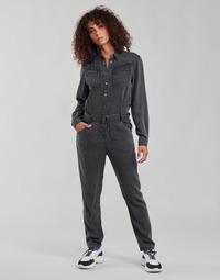 Kleidung Damen Overalls / Latzhosen Ikks MAID Grau